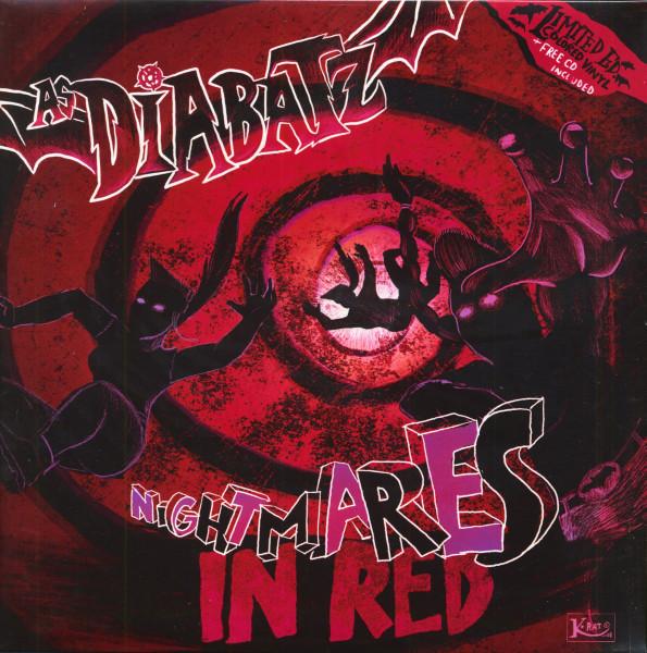 Nightmares In Red (LP & CD, Colored Vinyl, Ltd.)