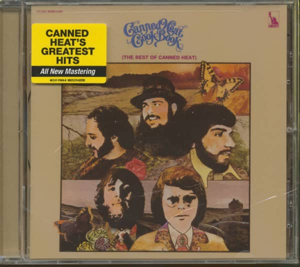 Canned Heat Cook Book - The Best Of Canned Heat (CD)