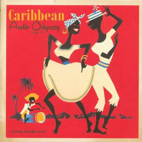 Caribbean Audio Odyssey Vol.2 (10inch LP, Ltd.)