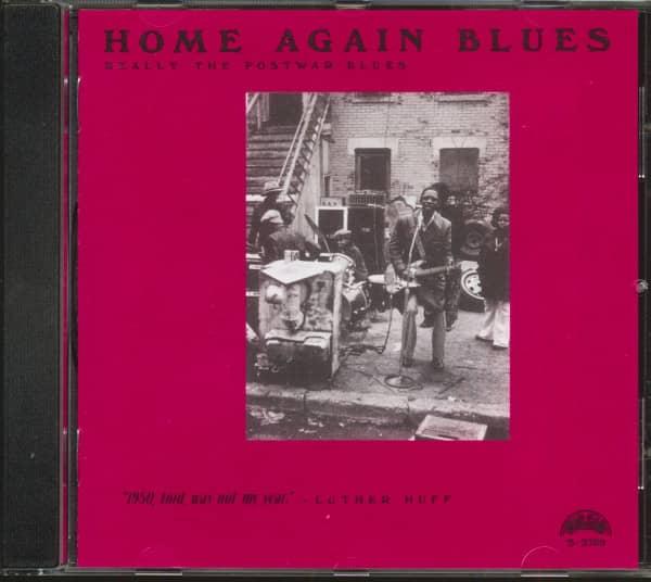 Home Again Blues (CD)