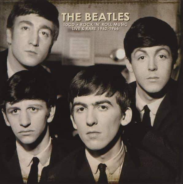 Rock'n'Roll Music - Live & Rare 1962-1966 (10-CD)