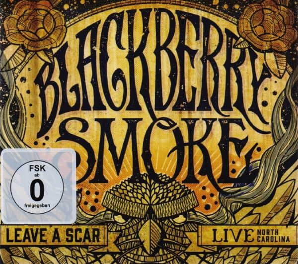 Leave A Scar: Live In North Carolina (2-CD, 1-DVD)