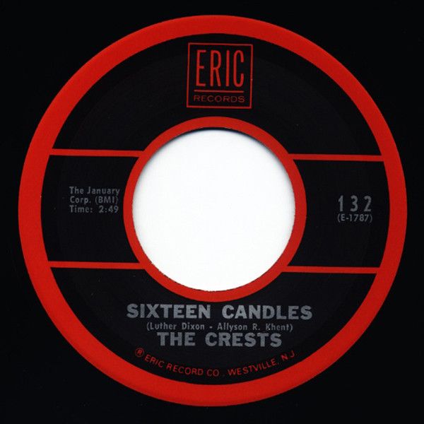Sixteen Candles - Trouble In Paradise 7inch, 45rpm