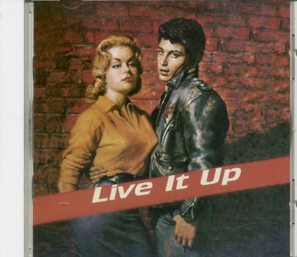 Live It Up (CD)