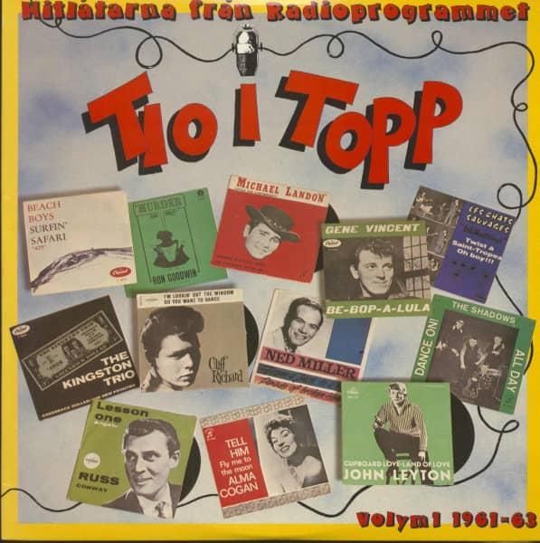 Tio I Topp Vol.1 - 1961-63 (2-LP)