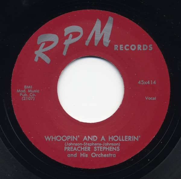 Whoopin' And A Hollerin' b-w So Far Away 7inch, 45rpm