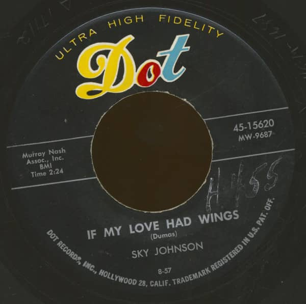 If My Love Had Wings - A Wound Time Can't Erase (7inch, 45rpm, BC)