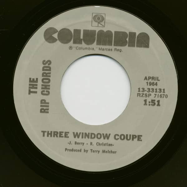 Three Window Coupe - Hey Little Cobra (7inch, 45rpm)