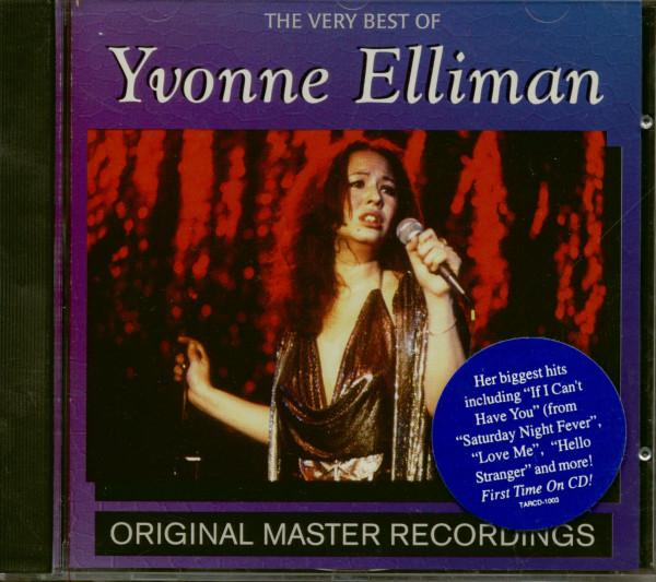 The Very Best Of Yvonne Elliman (CD)