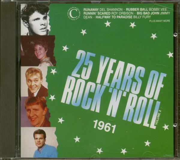 25 Years Of Rock'N'Roll 1961 - Volume 2 (CD)