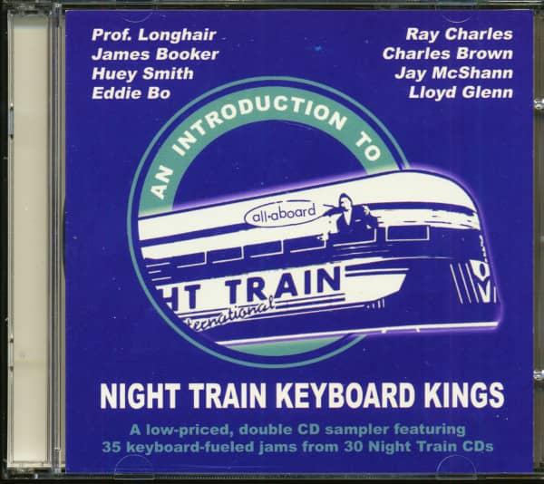 Night Train Keyboard Kings - Sampler (2-CD)