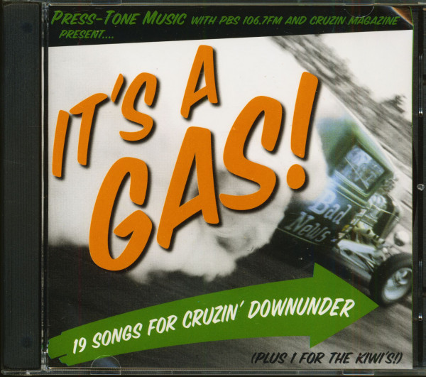 It's A Gas! Vol.1 - 19 Songs For Cruzin' Downunder Plus 1 For The Kiwis! (CD)