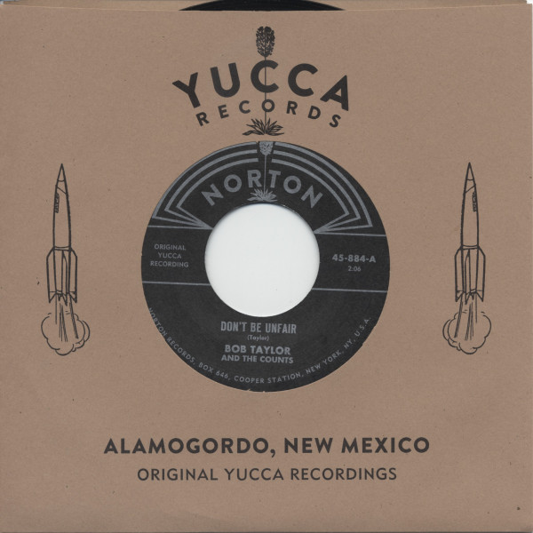 Bob Taylor & The Counts - Bobby Fuller - Original Yucca Recordings (7inch, 45rpm)