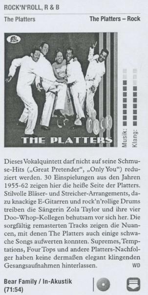 platters-Musik-Oldies
