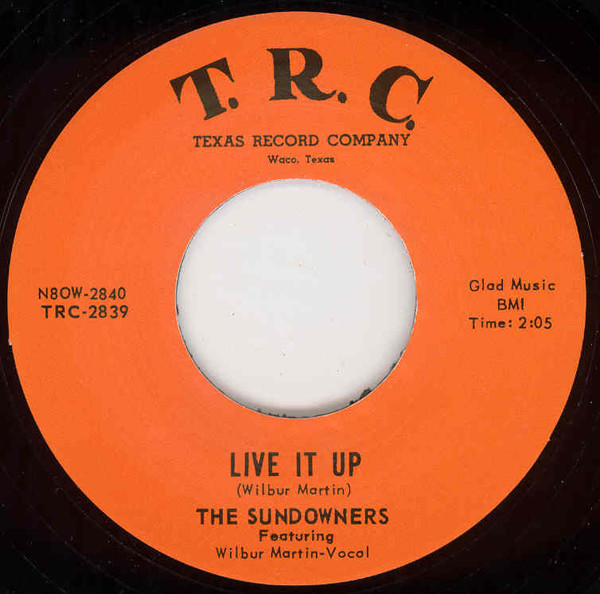 Live It Up - Our Last Date 7inch, 45rpm