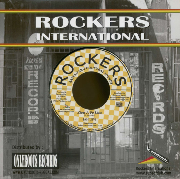 Jah Levi - Rockers All Stars (7inch, 45rpm, BC, PS)