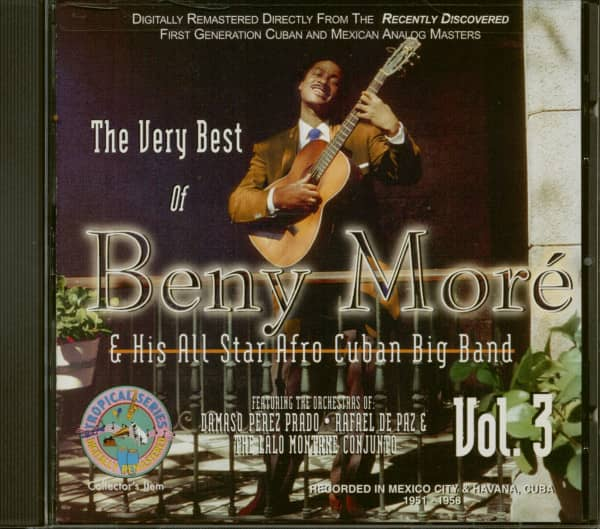 The Very Best Of Beny More & His All Star Afro Cuban Big Band (CD)
