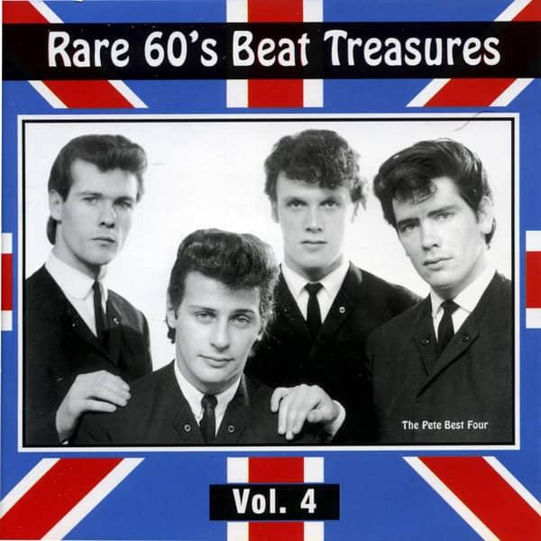 Rare 60s Beat Treasures, Vol.4 (CD)
