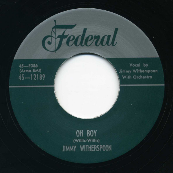 Move Me Baby - Oh Boy 7inch, 45rpm