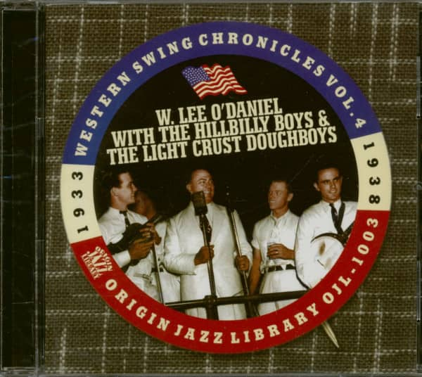 With The Light Crust Doughboys 1933-38 (CD)