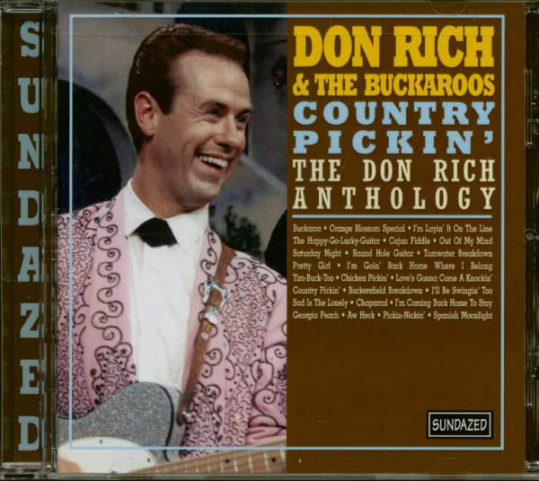 Country Pickin' - The Don Rich Anthology (CD)