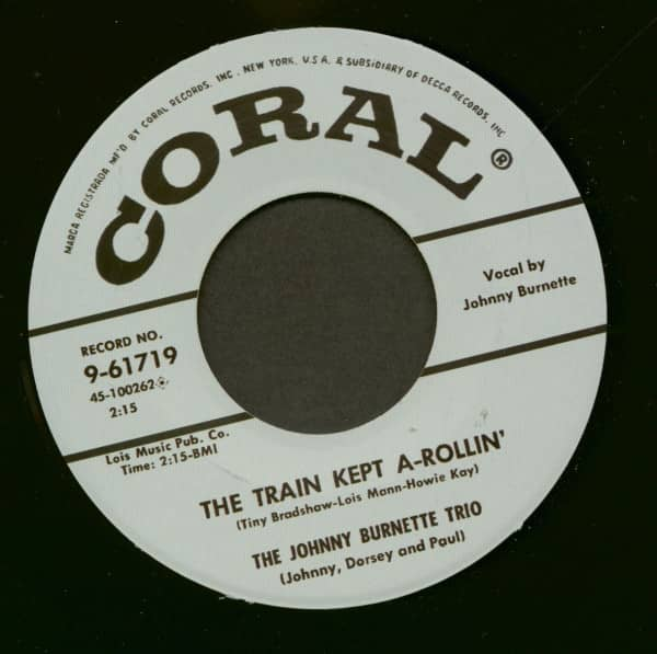 The Train Kept A-Rollin' - Honey Hush (7inch, 45rpm)