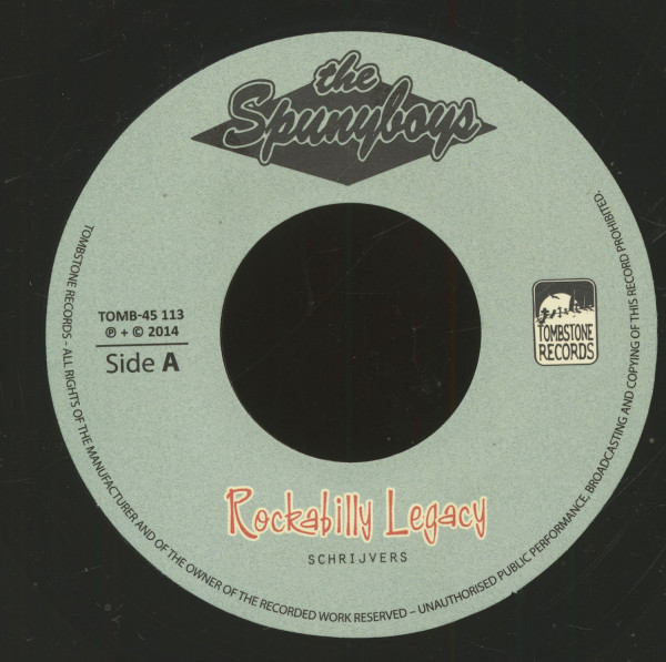 Rockabilly Legacy - Trouble In Town (7inch, 45rpm, BC)