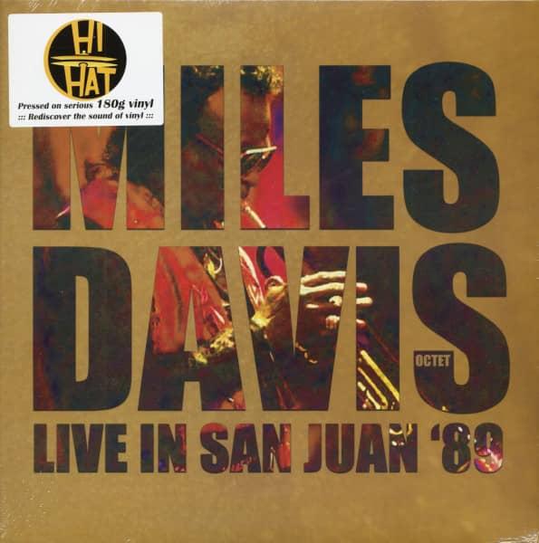 Miles Davis Octet - Live In San Juan '89 (LP, 180g Vinyl)