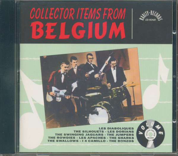 Collector Items From Belgium (CD)