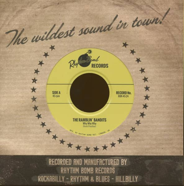Why Why Why - Going Places (45rpm, PS)