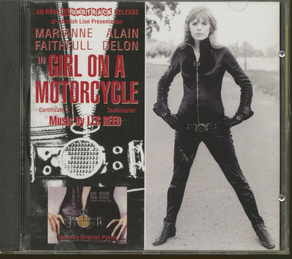 Girl On A Motorcycle - Soundtrack (CD)