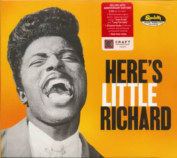 Here's Little Richard - 60th Anniversary Edition! (2-CD)