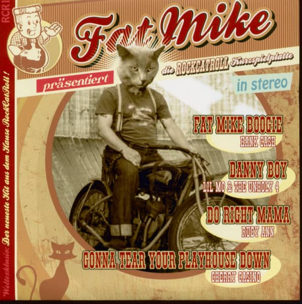 Fat Mike präsentiert die RockCatRoll Kurzspielplatte (EP, 7inch, 33rpm, PS)