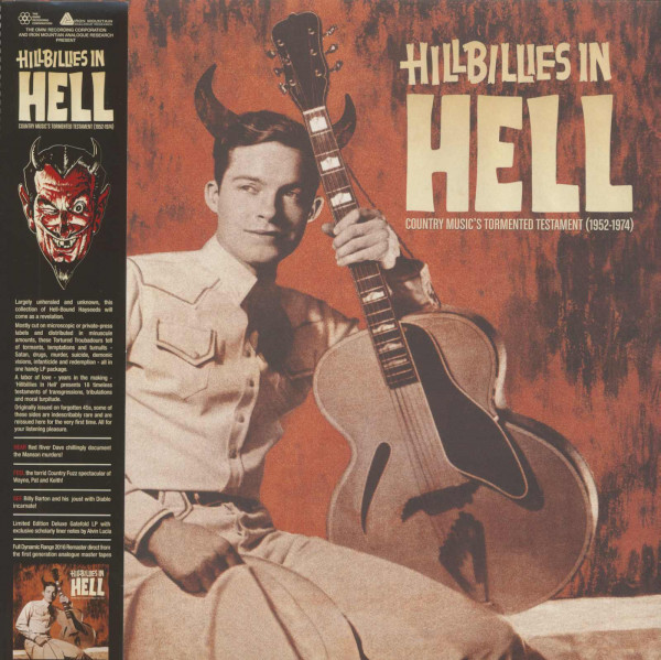 Hillbillies In Hell - Country Music's Tormented Testament - 1952-74 (LP)