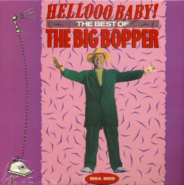 Hellooo Baby - The Best Of The Big Bopper (LP, Cut-Out)
