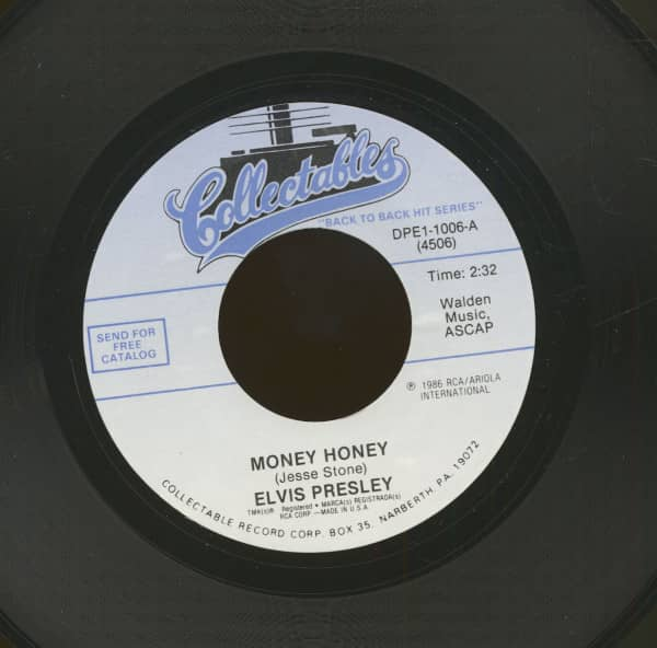 Money Honey - One Sided Love Affair (7inch, 45rpm)