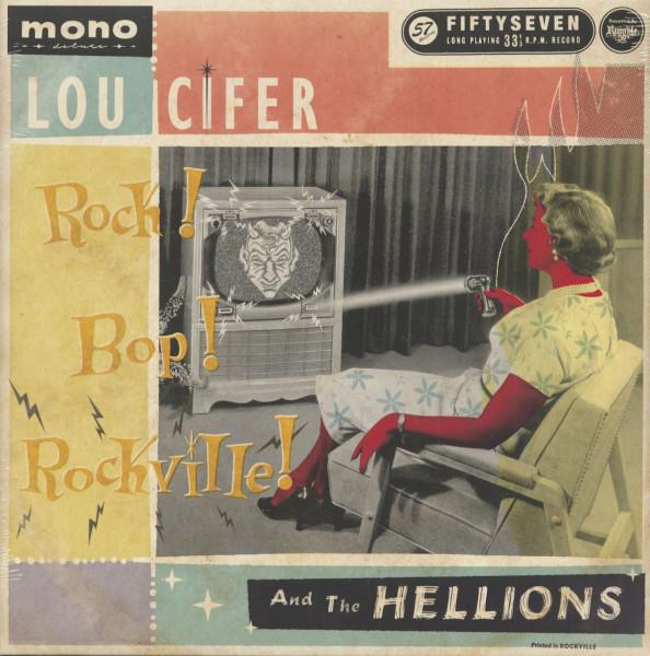 Rock - Bop - Rockville (LP)