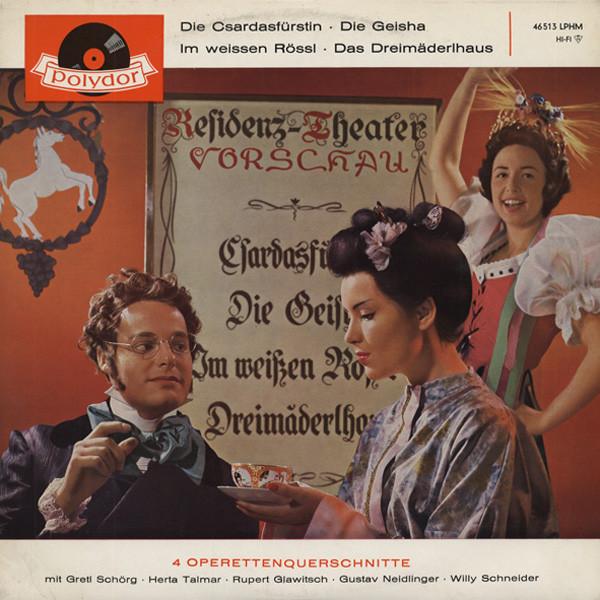 Die Csardafürstin - 4 Operettenquerschnitte