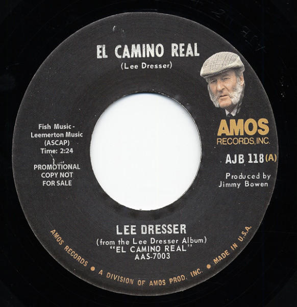 El Camino Real - Thinkin Bout Your Love 7inch, 45rpm