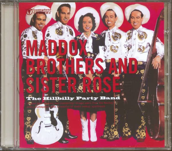 Maddox Bothers And Sister Rose - The Hillbilly Party Band (CD)