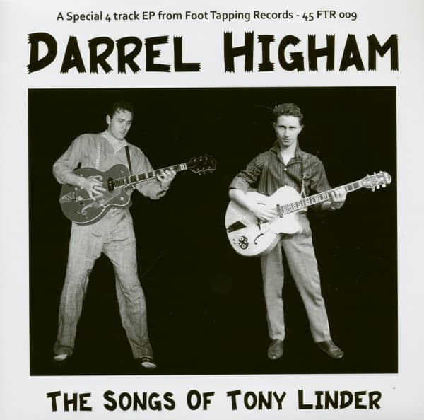 The Songs Of Tony Linder (7inch, 45rpm, EP, PS)