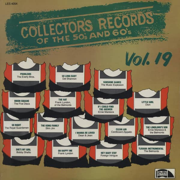 Collector's Records of the 50s and 60s Vol.19