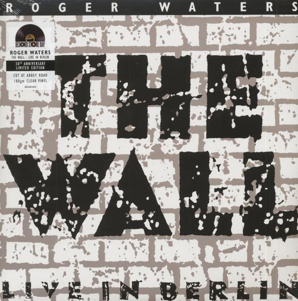 The Wall - Live In Berlin 1990 (2-LP, 180g Clear Vinyl, RSD, Ltd.)