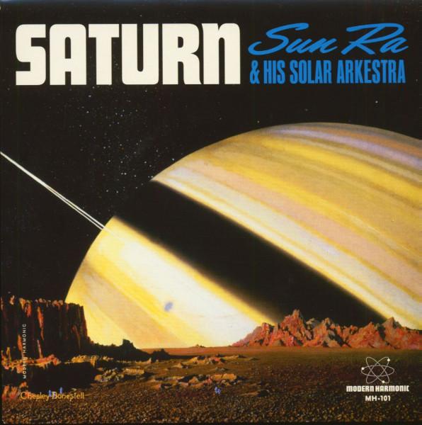 Saturn - Mystery, Mr. Ra (45rpm Single, PS, BC, Orange Vinyl)