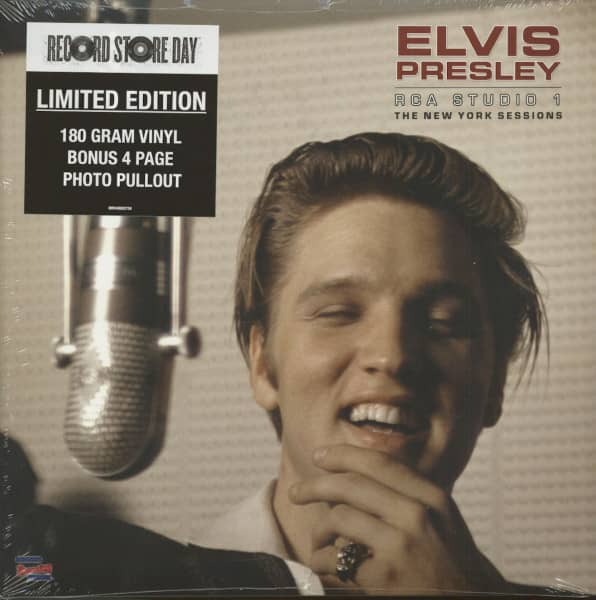 RCA Studio 1 - The New York Sessions (LP, 180g Vinyl, Ltd.)