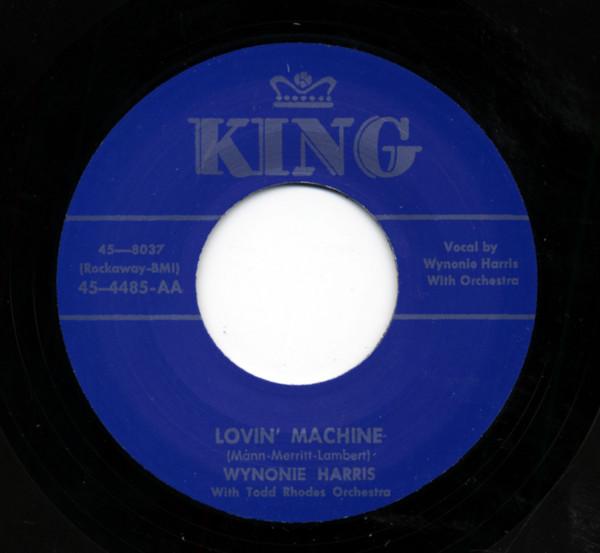 Lovin' Machine b-w Keep On Churnin' 7inch, 45rpm