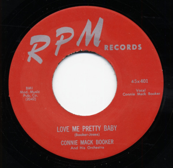 Love Me Pretty Baby - Hold Me (7inch, 45rpm)