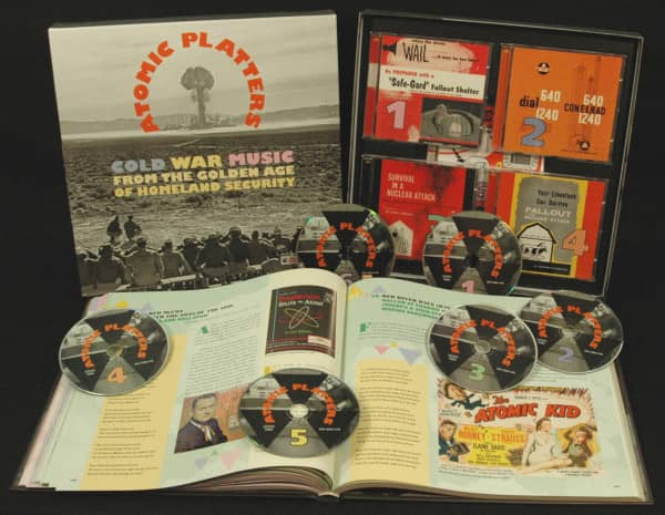 Atomic Platters (5CD & 1DVD Deluxe Box Set)