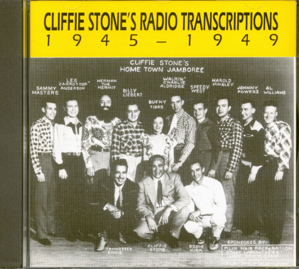 Cliffie Stone's Radio Transcriptions 1945-1949 (CD)