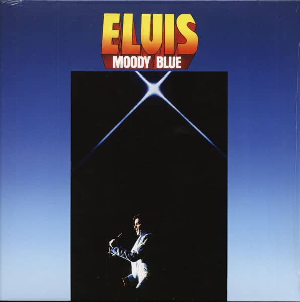 Moody Blue (LP, Clear Blue Vinyl)